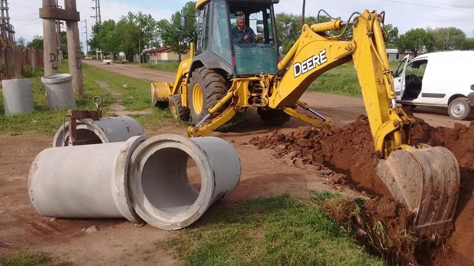 El Municipio avanza con obras en Zona Sur