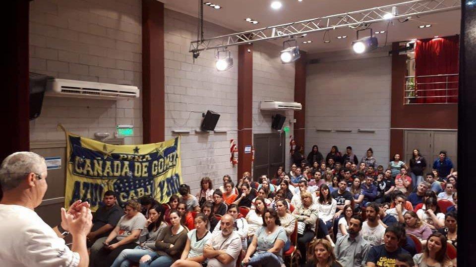 Municipio y Peña de Boca realizaron curso de RCP